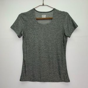 32 Degrees Cool Gray Athletic Tee Top Size Med